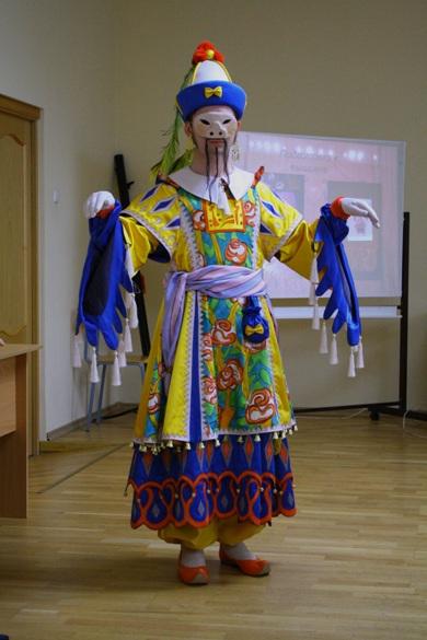Воссозданный М. Головиной костюм китайца