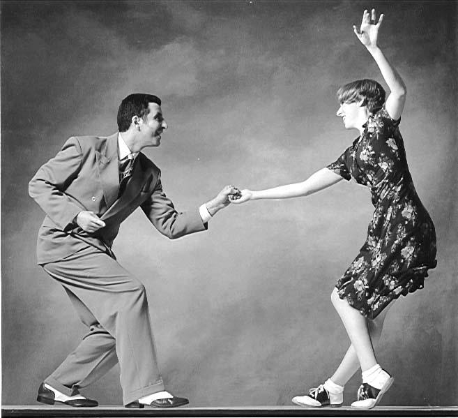 танец в стиле swing