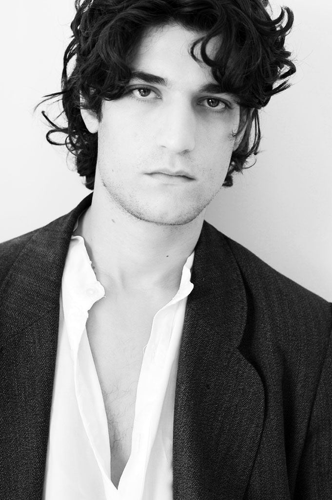 09/22/2008. 56th San Sebastian Film Festival. Close up of French Actor Louis Garrel for the movie 'La Belle Personne'