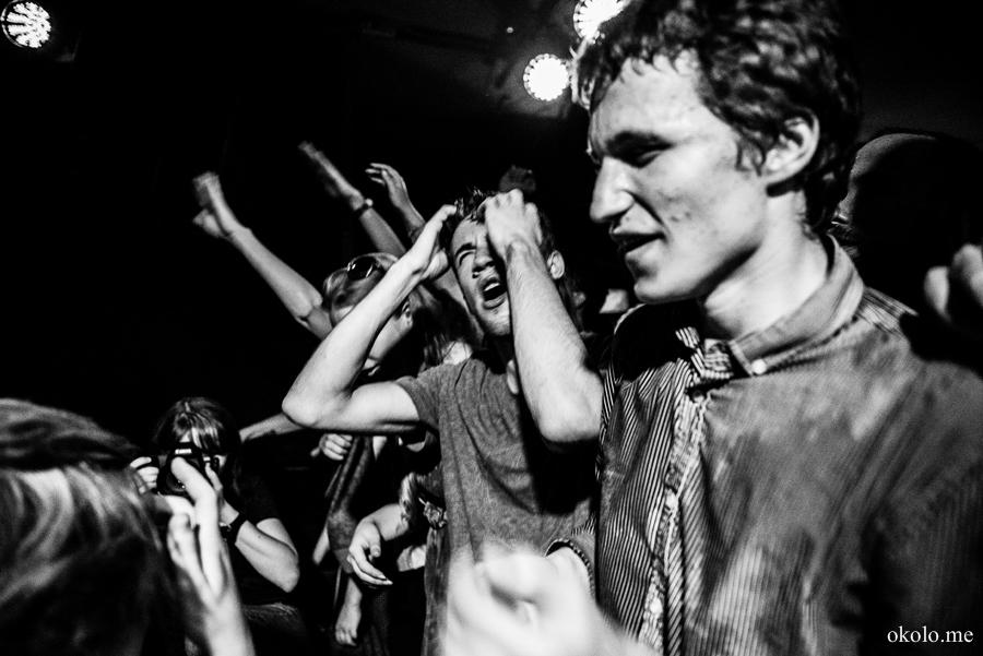 Badbadnotgood gig in Da:Da club, St.Petersburg, Russia. 2014-07-24