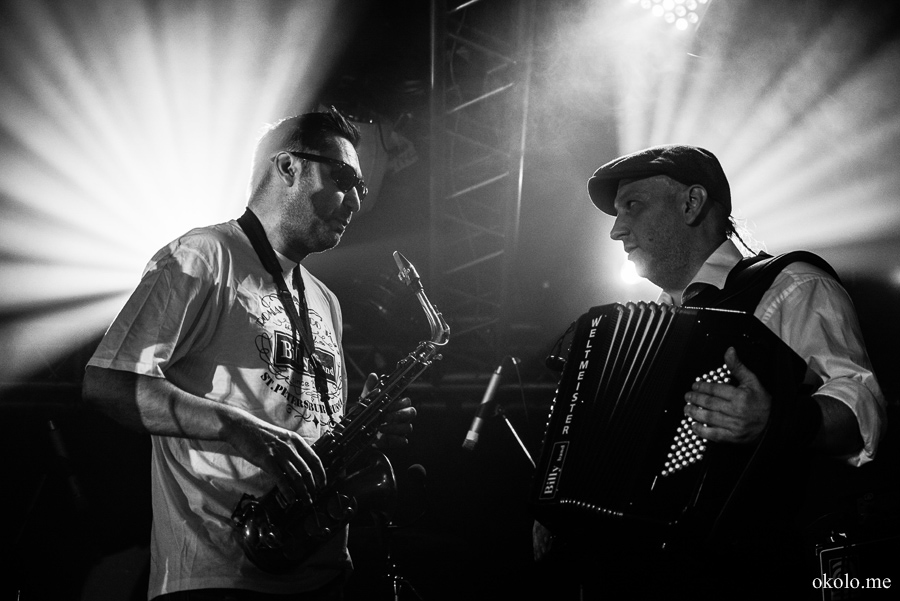 Billy's Band gig, Zal Ojidania club, St.Petersburg, Russia, 2014-07-26
