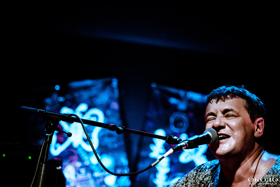 Leonid Fedorov & Vladimir Volkov in A2 club, St. Petersburg, Russia. 2014-12-05