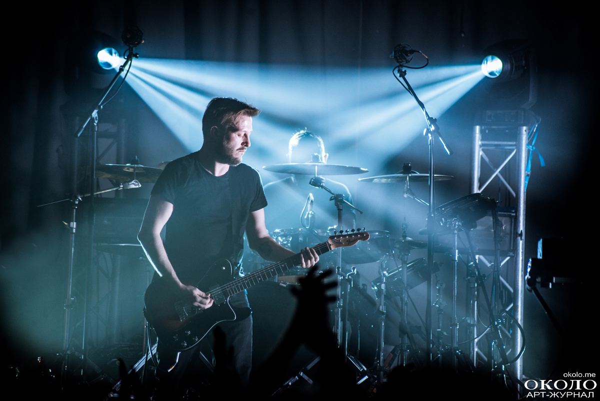 65daysofstatic gig in A2 club, St.Petersburg, Russia. 2015-03-28