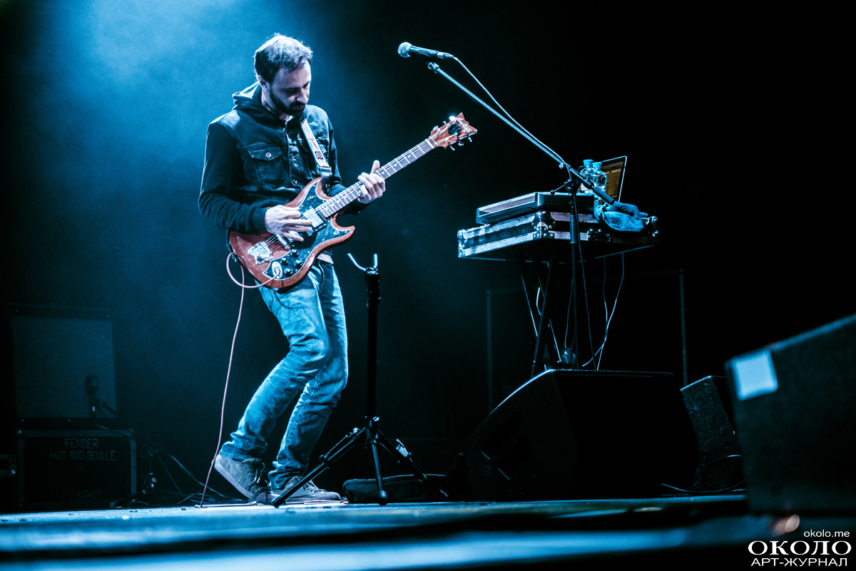 Tequilajazzz gig in A2 club, St.Petersburg, Russia. 2015-04-16