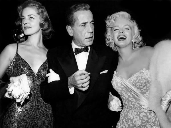 Bacall-Bogie-and-Marilyn-Monroe-at-the-premiere-of-How-To-Marry-a-Millionaire