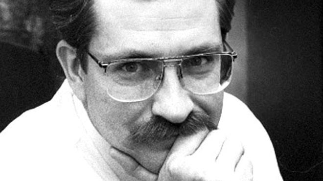Тележурналист В. Листьев.