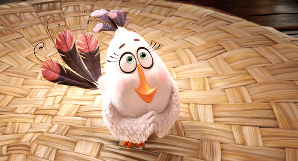 Matilda (Maya Rudolph) peacefully channels her anger in Columbia Pictures and Rovio Animation's ANGRY BIRDS.