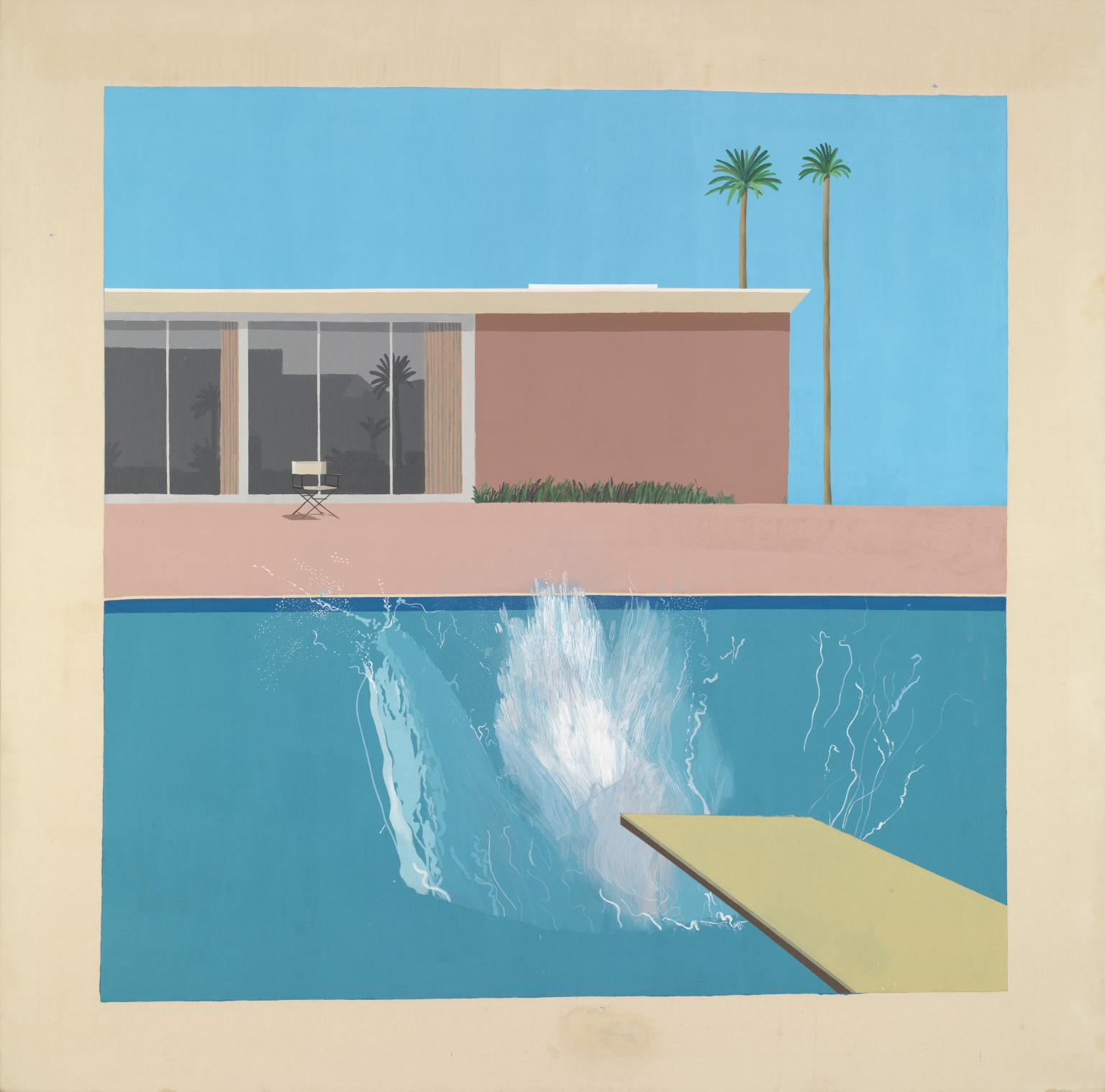 A Bigger Splash 1967 by David Hockney born 193