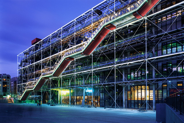 Paris, France --- Pompidou Centre --- Image by © Derek Croucher/CORBIS